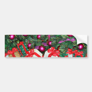 Christmas Greetings_ Bumper Sticker