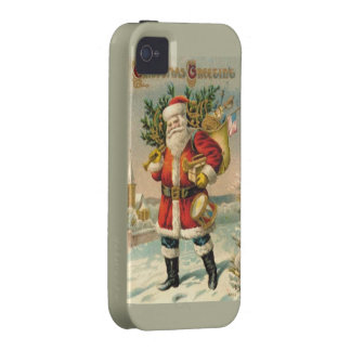 Christmas Greetings Vibe iPhone 4 Cover