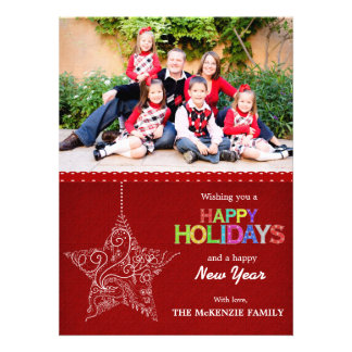 Christmas Greetings Personalized Invites