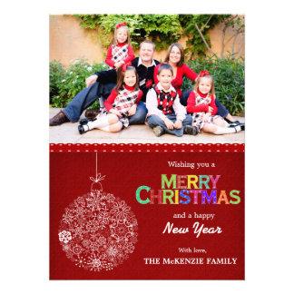 Christmas Greetings Custom Invite