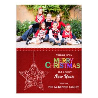 Christmas Greetings Custom Announcement