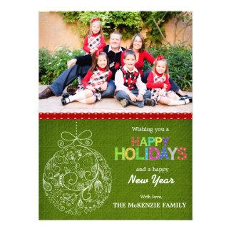 Christmas Greetings Personalized Invitation