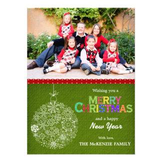 Christmas Greetings Custom Invitation