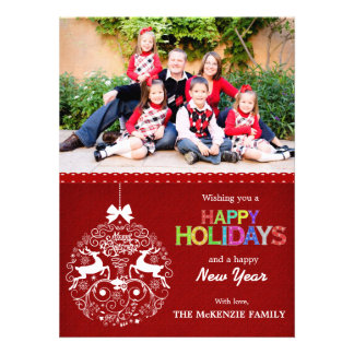 Christmas Greetings Personalized Invitations
