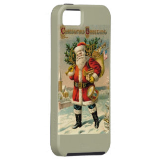Christmas Greetings iPhone 5 Cases