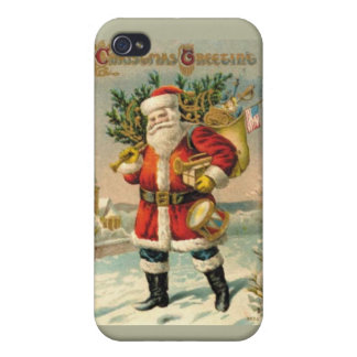 Christmas Greetings iPhone 4/4S Covers