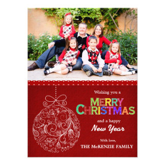 Christmas Greetings Personalized Invitation