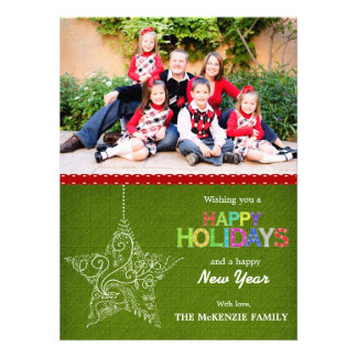 Christmas Greetings Personalized Invite