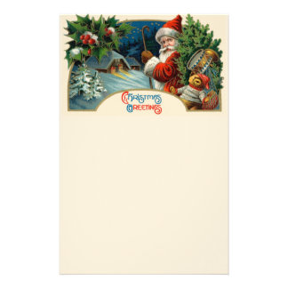 Christmas Greetings Stationery