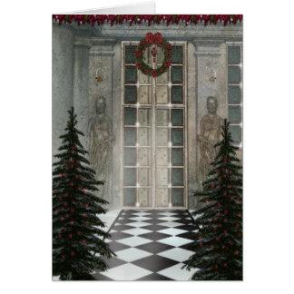 Christmas Hall Card
