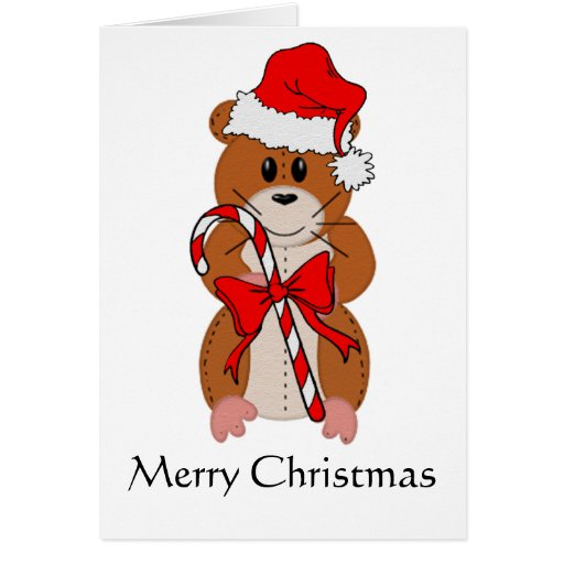 Christmas Hamster Cards