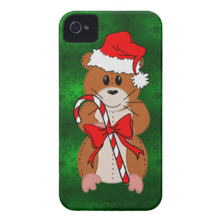Christmas Hamster iPhone 4 Case-Mate Cases