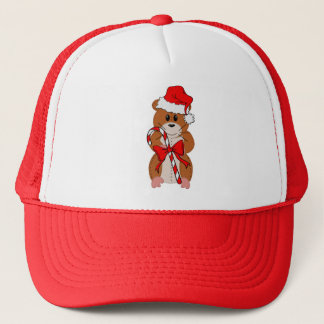 Christmas Hamster Trucker Hat