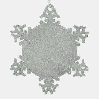 christmas hanging pewter snowflake decoration