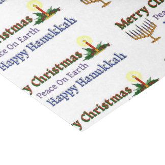 Christmas Hanukkah Tissue Paper