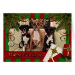 Christmas - Happy Pawlidays - Boxers