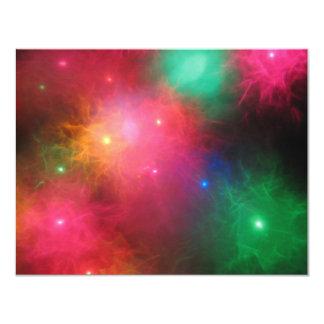 Christmas Haze 11 Cm X 14 Cm Invitation Card