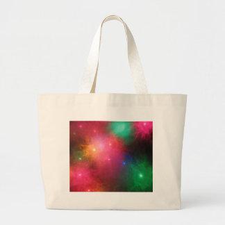 Christmas Haze Jumbo Tote Bag