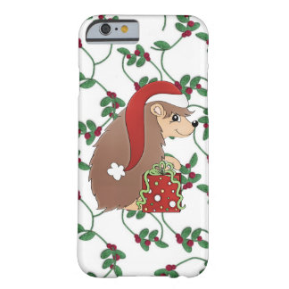 Christmas hedgehog iPhone 6 slim case