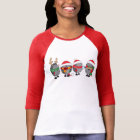Christmas hedgehogs T-Shirt