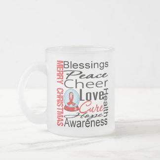 Christmas Holiday AIDS Collage Coffee Mugs