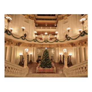 Christmas Holiday at Pennsylvania State Capitol Postcard