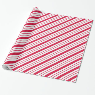 Christmas Holiday Candy Peppermint Wrapping Paper