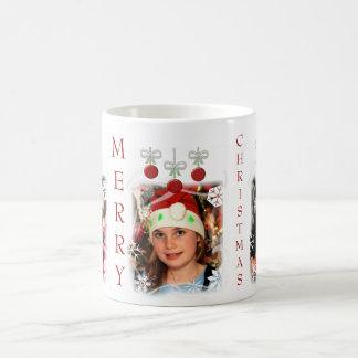 Christmas Holiday Custom Photo Coffee Mug