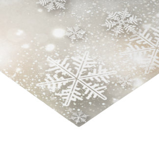Christmas Holiday Elegant Snowflake Tissue Paper