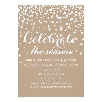 Christmas Holiday Family Party 13 Cm X 18 Cm Invitation Card