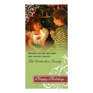 Christmas Holiday Family Photo Card