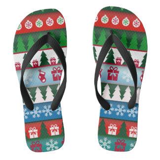 Christmas Holiday Festive Thongs