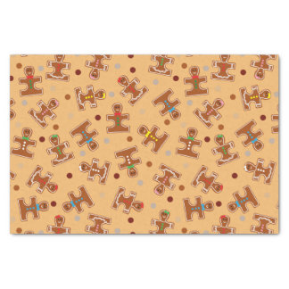 Christmas Holiday Gingerbread Autism Awareness Tissue Paper