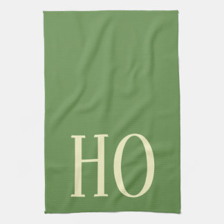 CHRISTMAS HOLIDAY GRAPHIC HO KITCHEN DISH TOWEL