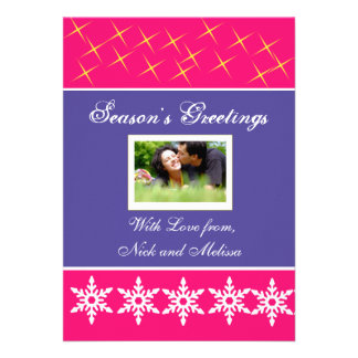 Christmas Holiday Greetings Photo Card
