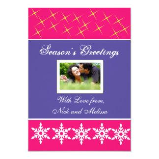 Christmas Holiday Greetings Photo Card 13 Cm X 18 Cm Invitation Card