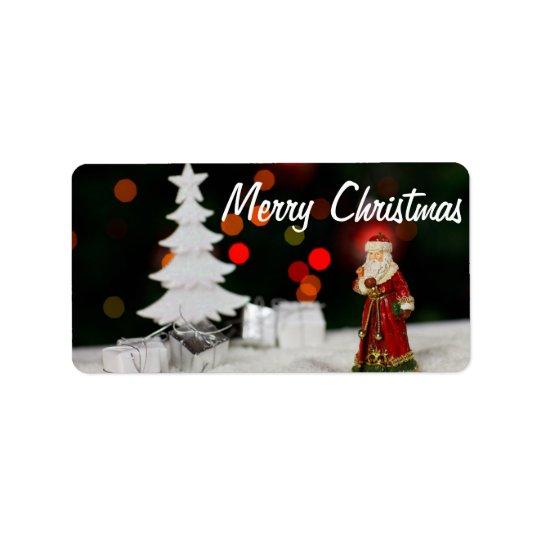 Christmas Holiday Label