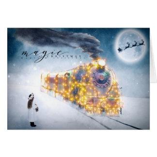 Christmas Holiday - Magic of Christmas - Train Card