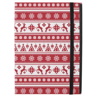 "Christmas Holiday Nordic Pattern Cozy iPad Pro 12.9"" Case"