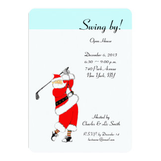 Christmas Holiday Open House Invitations