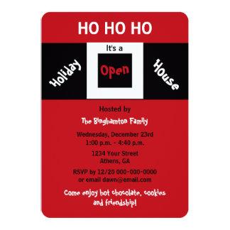 Christmas Holiday Open House Invitations HOHOHO