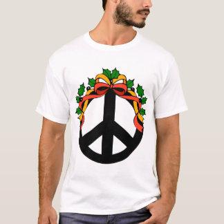 Christmas Holiday Peace T Shirt