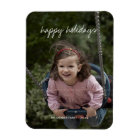 Christmas Holiday Personalised Photo Kids Picture Magnet