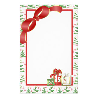 Christmas Holiday Personalized Stationery