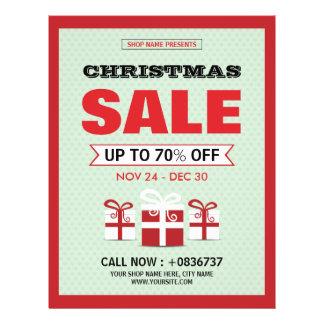 Christmas / Holiday Sale Flyer