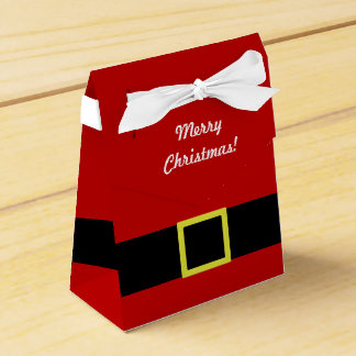 Christmas Holiday | Santa's Belt | Personalised Favour Box