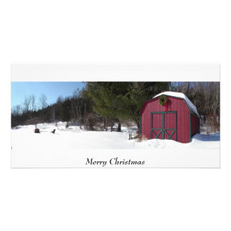 Christmas, holiday, season, greetings personalized photo card