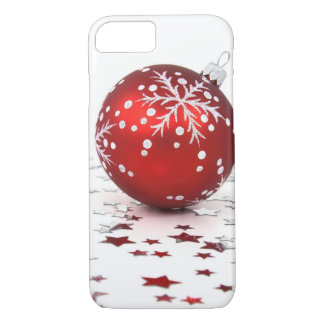 Christmas Holiday Stars iPhone 7 Case