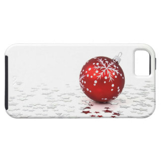 Christmas Holiday Stars Tough iPhone 5 Case
