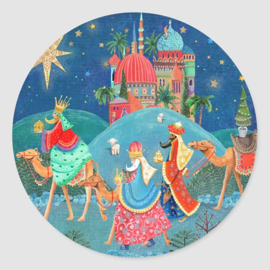 Christmas Holiday | Three Kings | Sticker